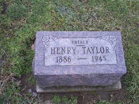 TAYLOR, ROBERT HENRY - Ross County, Ohio | ROBERT HENRY TAYLOR - Ohio Gravestone Photos