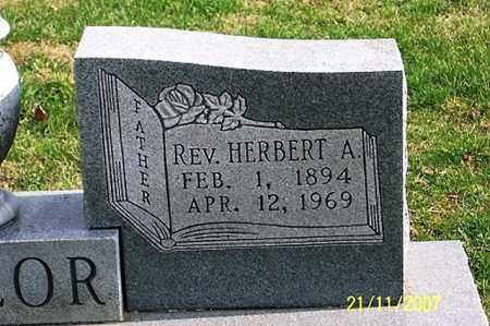 TAYLOR, REV. HERBERT A. - Ross County, Ohio | REV. HERBERT A. TAYLOR - Ohio Gravestone Photos