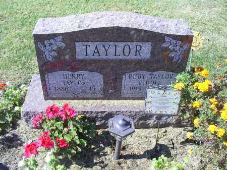 TAYLOR RIDDLE, RUBY MARIE - Ross County, Ohio | RUBY MARIE TAYLOR RIDDLE - Ohio Gravestone Photos