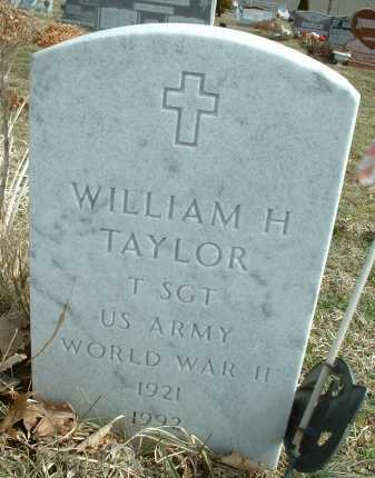 TAYLOR, WILLIAM HENRY - Ross County, Ohio | WILLIAM HENRY TAYLOR - Ohio Gravestone Photos
