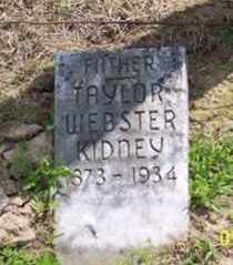 KIDNEY, TAYLOR WEBSTER - Ross County, Ohio | TAYLOR WEBSTER KIDNEY - Ohio Gravestone Photos