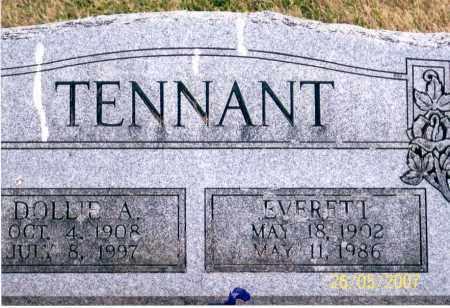 TENNANT, EVERETT - Ross County, Ohio | EVERETT TENNANT - Ohio Gravestone Photos