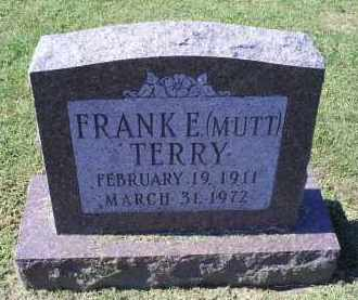 "TERRY, FRANK E, ""MUTT"" - Ross County, Ohio 