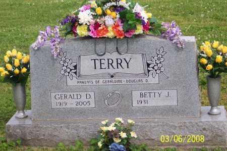 TERRY, GERALD D. - Ross County, Ohio | GERALD D. TERRY - Ohio Gravestone Photos