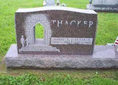 THACKER, HARRY E. - Ross County, Ohio | HARRY E. THACKER - Ohio Gravestone Photos