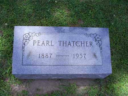 THATCHER, PEARL - Ross County, Ohio | PEARL THATCHER - Ohio Gravestone Photos