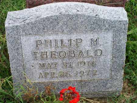 THEOBALD, PHILIP M. - Ross County, Ohio | PHILIP M. THEOBALD - Ohio Gravestone Photos