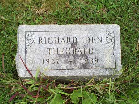 THEOBALD, RICHARD IDEN - Ross County, Ohio | RICHARD IDEN THEOBALD - Ohio Gravestone Photos
