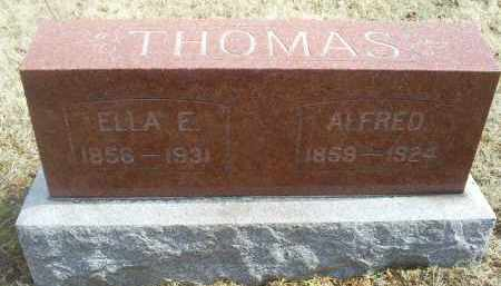 THOMAS, ELLA E. - Ross County, Ohio   ELLA E. THOMAS - Ohio Gravestone Photos