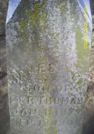 THOMAS, JAMES - Ross County, Ohio | JAMES THOMAS - Ohio Gravestone Photos