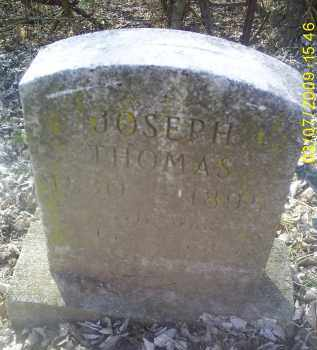 THOMAS, JOSEPH - Ross County, Ohio | JOSEPH THOMAS - Ohio Gravestone Photos