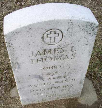 THOMAS, JAMES L. - Ross County, Ohio | JAMES L. THOMAS - Ohio Gravestone Photos