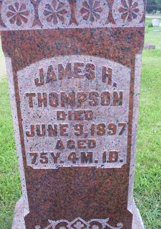 THOMPSON, JAMES H. - Ross County, Ohio   JAMES H. THOMPSON - Ohio Gravestone Photos