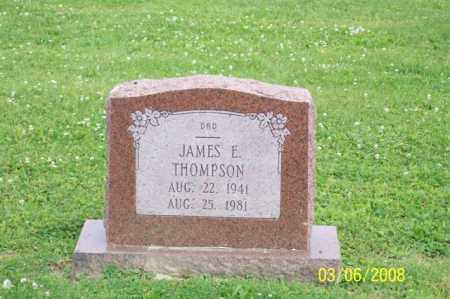 THOMPSON, JAMES E. - Ross County, Ohio | JAMES E. THOMPSON - Ohio Gravestone Photos