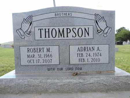 THOMPSON, ADRIAN A. - Ross County, Ohio | ADRIAN A. THOMPSON - Ohio Gravestone Photos