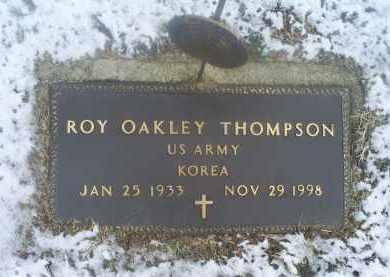 THOMPSON, ROY OAKLEY - Ross County, Ohio | ROY OAKLEY THOMPSON - Ohio Gravestone Photos