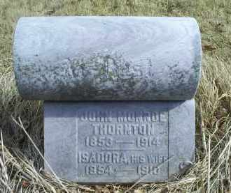 THORNTON, ISADORA - Ross County, Ohio | ISADORA THORNTON - Ohio Gravestone Photos
