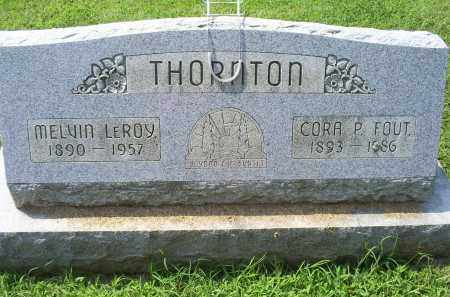 THORNTON, MELVIN LEROY - Ross County, Ohio | MELVIN LEROY THORNTON - Ohio Gravestone Photos