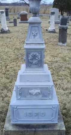 THROCKMORTON, MONUMENT - Ross County, Ohio   MONUMENT THROCKMORTON - Ohio Gravestone Photos