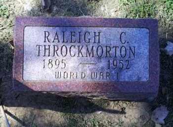 THROCKMORTON, RALEIGH C. - Ross County, Ohio | RALEIGH C. THROCKMORTON - Ohio Gravestone Photos