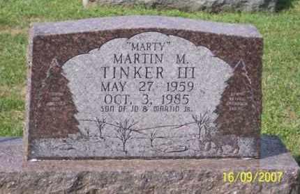 """TINKER, MARTIN M """"MARTY"""" III - Ross County, Ohio   MARTIN M """"MARTY"""" III TINKER - Ohio Gravestone Photos"""