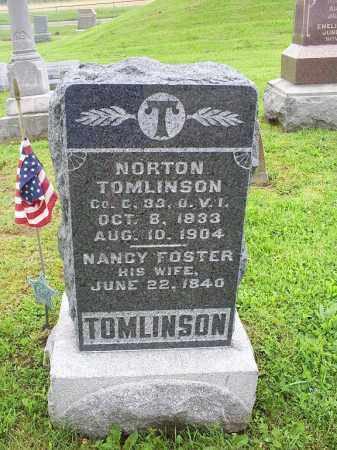 FOSTER TOMLINSON, NANCY - Ross County, Ohio | NANCY FOSTER TOMLINSON - Ohio Gravestone Photos