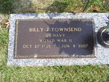TOWNSEND, BILLY J. - Ross County, Ohio   BILLY J. TOWNSEND - Ohio Gravestone Photos