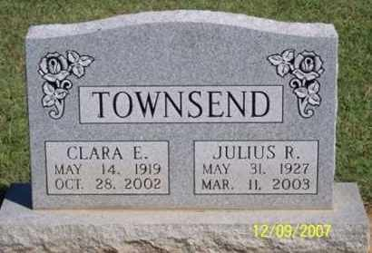 TOWNSEND, CLARA E. - Ross County, Ohio | CLARA E. TOWNSEND - Ohio Gravestone Photos
