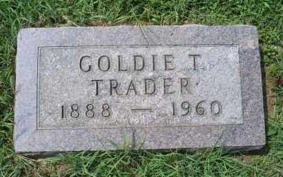 TRADER, GOLDIE T. - Ross County, Ohio   GOLDIE T. TRADER - Ohio Gravestone Photos