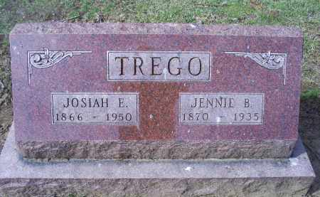 TREGO, JENNIE B. - Ross County, Ohio | JENNIE B. TREGO - Ohio Gravestone Photos