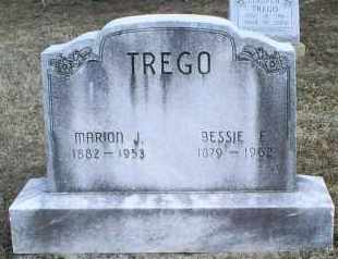 TREGO, MARION J. - Ross County, Ohio | MARION J. TREGO - Ohio Gravestone Photos