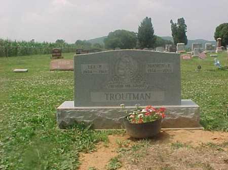 BENTLEY TROUTMAN, NANCY ELIZABETH - Ross County, Ohio | NANCY ELIZABETH BENTLEY TROUTMAN - Ohio Gravestone Photos