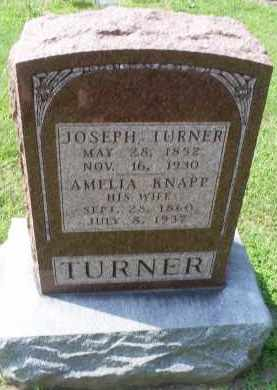 KNAPP TURNER, AMELIA - Ross County, Ohio   AMELIA KNAPP TURNER - Ohio Gravestone Photos