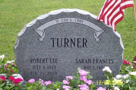 TURNER, ROBERT  LEE - Ross County, Ohio | ROBERT  LEE TURNER - Ohio Gravestone Photos