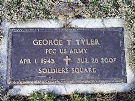TYLER, GEORGE T. - Ross County, Ohio | GEORGE T. TYLER - Ohio Gravestone Photos