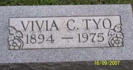 TYO, VIVIA C. - Ross County, Ohio   VIVIA C. TYO - Ohio Gravestone Photos
