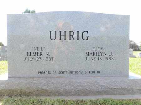 UHRIG, ELMER N - Ross County, Ohio | ELMER N UHRIG - Ohio Gravestone Photos