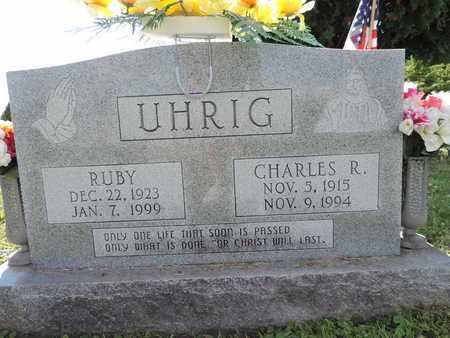 UHRIG, CHARLES R. - Ross County, Ohio | CHARLES R. UHRIG - Ohio Gravestone Photos