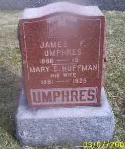 UMPHRES, JAMES F. - Ross County, Ohio | JAMES F. UMPHRES - Ohio Gravestone Photos