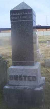 UMSTED, MONUMENT - Ross County, Ohio | MONUMENT UMSTED - Ohio Gravestone Photos