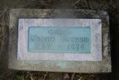 UMSTED, MESSIE - Ross County, Ohio | MESSIE UMSTED - Ohio Gravestone Photos