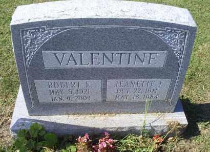 VALENTINE, ROBERT L. - Ross County, Ohio | ROBERT L. VALENTINE - Ohio Gravestone Photos
