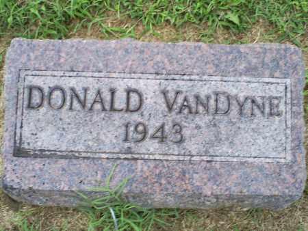 VANDYNE, DONALD - Ross County, Ohio   DONALD VANDYNE - Ohio Gravestone Photos