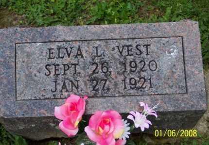 VEST, ELVA L. - Ross County, Ohio | ELVA L. VEST - Ohio Gravestone Photos