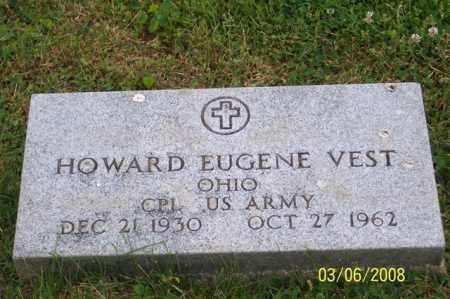 VEST, HOWARD EUGENE - Ross County, Ohio | HOWARD EUGENE VEST - Ohio Gravestone Photos