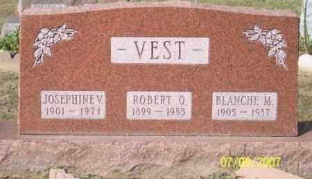 VEST, JOSEPHINE V. - Ross County, Ohio   JOSEPHINE V. VEST - Ohio Gravestone Photos