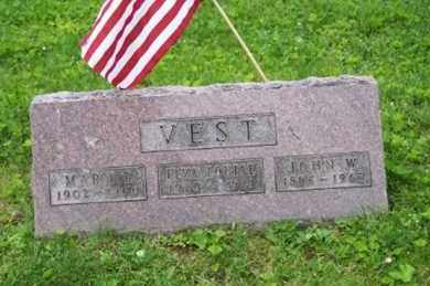 VEST, MARY T. - Ross County, Ohio | MARY T. VEST - Ohio Gravestone Photos
