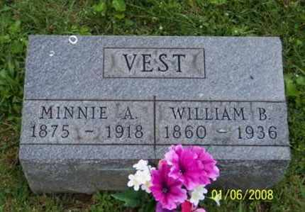 VEST, MINNIE A. - Ross County, Ohio | MINNIE A. VEST - Ohio Gravestone Photos