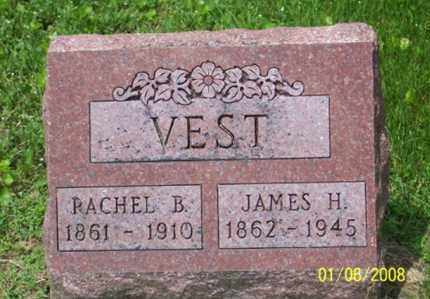 VEST, RACHEL B. - Ross County, Ohio | RACHEL B. VEST - Ohio Gravestone Photos