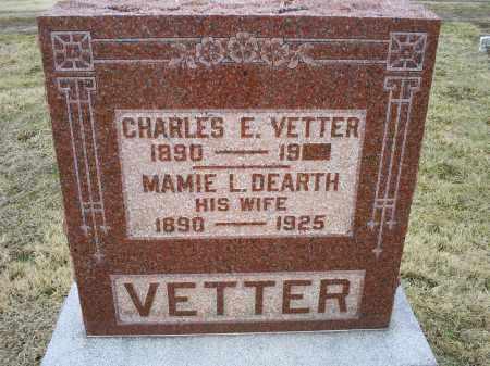 VETTER, CHARLES E. - Ross County, Ohio | CHARLES E. VETTER - Ohio Gravestone Photos